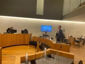 Beëdigingszitting Geert-Jan Boerhof in de rechtbank te Zwolle